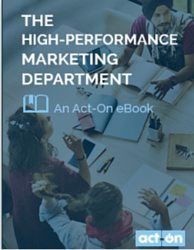 The High-Performing Marketing Department eBook Image