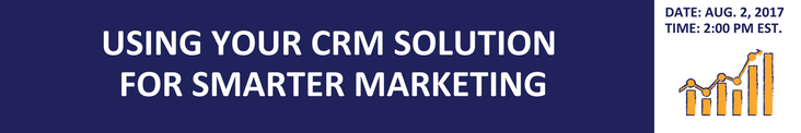 CRM for Smarter Marketing Banner
